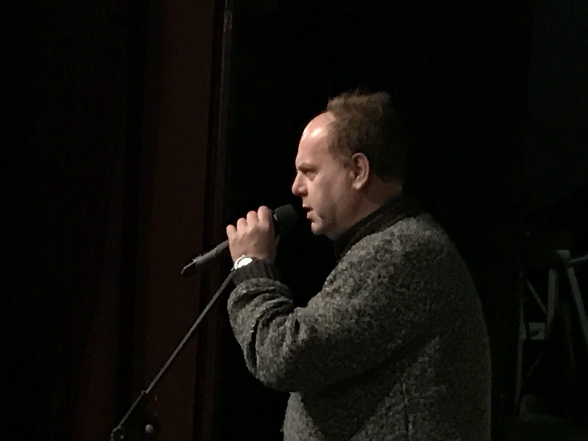 esempio di impiego di microfono radio