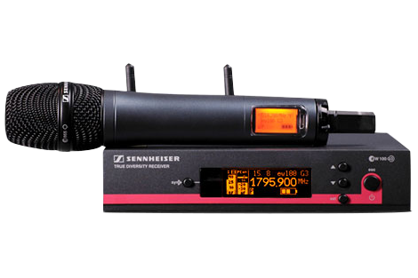 radio microfono sennheiser
