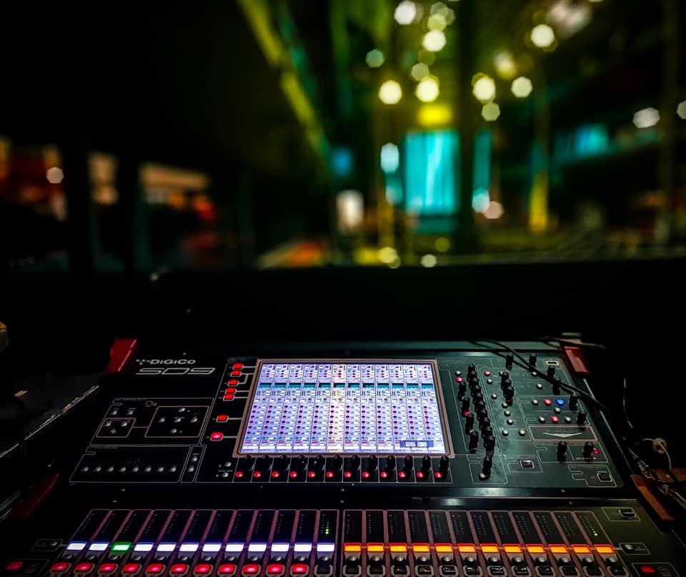 mixer regia audio