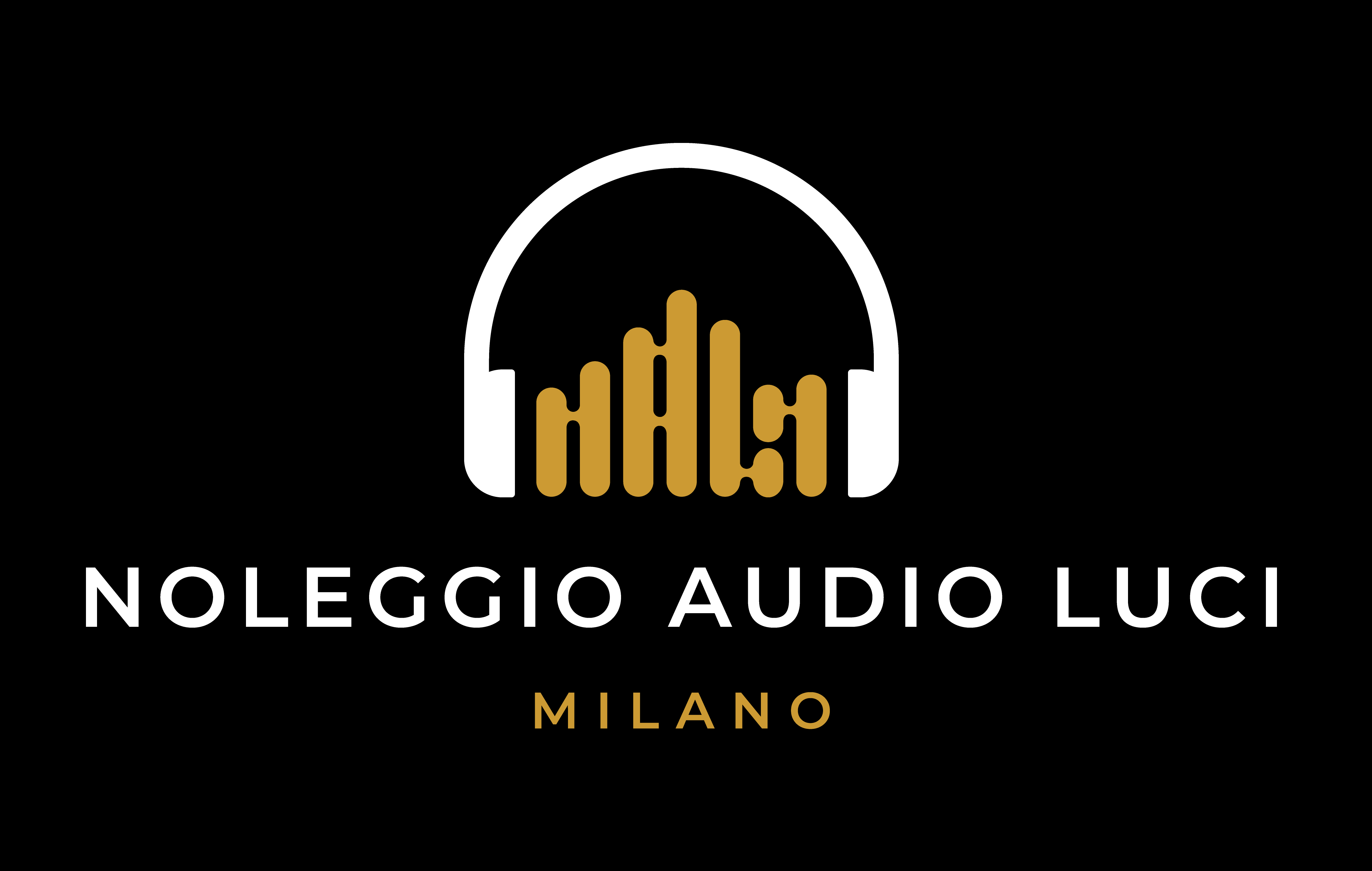 NOLEGGIO AUDIO LUCI MILANO