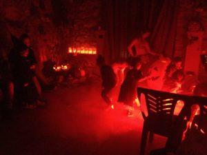 esempio di luci ad halloween barre a led